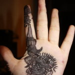 Hindu 12 150x150 - 100's of Hindu Tattoo Design Ideas Pictures Gallery