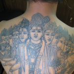 Hindu 4 150x150 - 100's of Hindu Tattoo Design Ideas Pictures Gallery