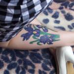 Iris Tattoo 10 150x150 - 100's of Iris Tattoo Design Ideas Pictures Gallery