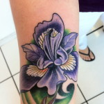 Iris Tattoo 12 150x150 - 100's of Iris Tattoo Design Ideas Pictures Gallery