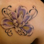 Iris Tattoo 6 150x150 - 100's of Iris Tattoo Design Ideas Pictures Gallery