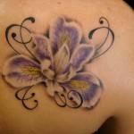 Iris Tattoo 6 150x150 - 100's of Iris Tattoo Design Ideas Pictures Gallery