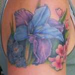 Iris Tattoo 7 150x150 - 100's of Iris Tattoo Design Ideas Pictures Gallery