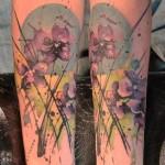 Iris Tattoo 8 150x150 - 100's of Iris Tattoo Design Ideas Pictures Gallery