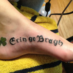 Irish 11 150x150 - 100's of Irish Tattoo Design Ideas Pictures Gallery