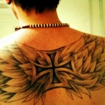 Iron Cross 10 150x150 - 100's of Iron Cross Tattoo Design Ideas Pictures Gallery