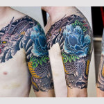 Japanese Dragon 8 150x150 - 100's of Japanese Dragon Tattoo Design Ideas Pictures Gallery
