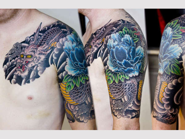 100's of Japanese Dragon Tattoo Design Ideas Pictures Gallery