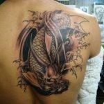 Koi Dragon 4 150x150 - 100's of Koi Dragon Tattoo Design Ideas Pictures Gallery