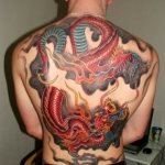 Koi Dragon 5 150x150 - 100's of Koi Dragon Tattoo Design Ideas Pictures Gallery