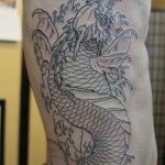Koi Dragon 6 150x150 - 100's of Koi Dragon Tattoo Design Ideas Pictures Gallery