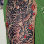 Koi Dragon 7 150x150 - 100's of Koi Dragon Tattoo Design Ideas Pictures Gallery
