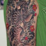 Koi Dragon 7 150x150 - 100's of Koi Dragon Tattoo Design Ideas Pictures Gallery
