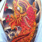 Koi Dragon 9 150x150 - 100's of Koi Dragon Tattoo Design Ideas Pictures Gallery