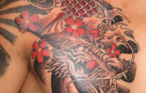 100's of Koi Dragon Tattoo Design Ideas Pictures Gallery