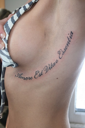 100's of Latin Tattoo Design Ideas Pictures Gallery