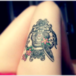 Leg Tattoos for Girls 3 150x150 - 100's of Leg Tattoos for Girls Design Ideas Pictures Gallery
