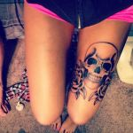 Leg Tattoos for Girls 4 150x150 - 100's of Leg Tattoos for Girls Design Ideas Pictures Gallery