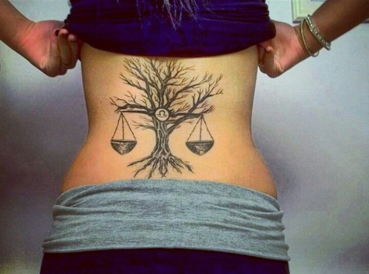 100's of Libra Tattoo Design Ideas Pictures Gallery
