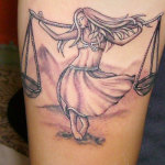Libra Tattoo3 150x150 - 100's of Libra Tattoo Design Ideas Pictures Gallery