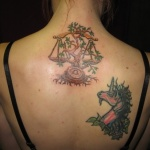 Libra Tattoo4 150x150 - 100's of Libra Tattoo Design Ideas Pictures Gallery