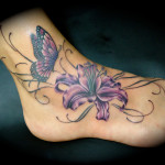 Lily Tattoo 10 150x150 - 100's of Lily Tattoo Design Ideas Pictures Gallery