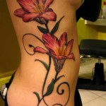Lily Tattoo 9 150x150 - 100's of Lily Tattoo Design Ideas Pictures Gallery