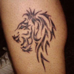 Lion Tribal Tattoo9 150x150 - 100's of Lion Tribal Tattoo Design Ideas Pictures Gallery