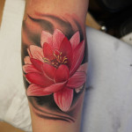 Lotus Tattoo 11 150x150 - 100's of Lotus Tattoo Design Ideas Pictures Gallery