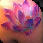 Lotus Tattoo 12 150x150 - 100's of Lotus Tattoo Design Ideas Pictures Gallery