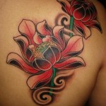 Lotus Tattoo 9 150x150 - 100's of Lotus Tattoo Design Ideas Pictures Gallery