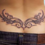 Lower Back Tattoos for Women 7 150x150 - 100's of Lower Back Tattoos for Women Design Ideas Pictures Gallery