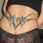 Lower Back Tribal Tattoo1 150x150 - 100's of Lower Back Tribal Tattoo Design Ideas Pictures Gallery