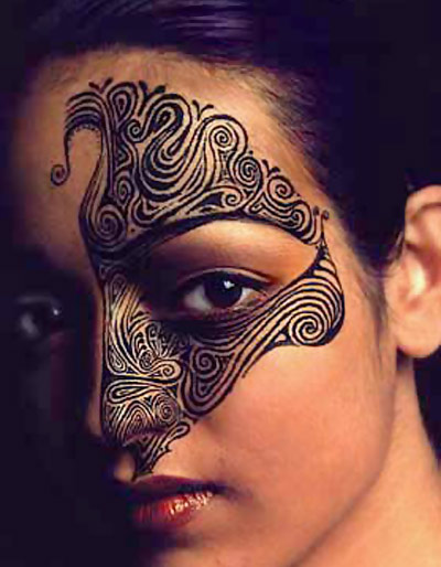 Maori Face Tattoo Female: 100's Of Maori Tattoo Design Ideas Pictures Gallery