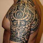 Maori Tribal Tattoo10 150x150 - 100's of Maori Tribal Tattoo Design Ideas Pictures Gallery