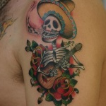 Mexican 12 150x150 - 100's of Mexican Tattoo Design Ideas Pictures Gallery