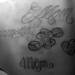 Mom 71 150x150 - 100's of Mother Tattoo Design Ideas Pictures Gallery