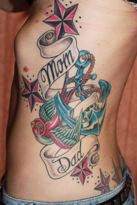 100 39 s of mom and dad tattoo design ideas pictures gallery for My dad tattoo