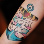 Mom and Dad 9 150x150 - 100's of Mom and Dad Tattoo Design Ideas Pictures Gallery