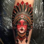 Native American 12 150x150 - 100's of Native American Tattoo Design Ideas Pictures Gallery