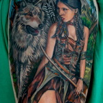 Native American 5 150x150 - 100's of Native American Tattoo Design Ideas Pictures Gallery
