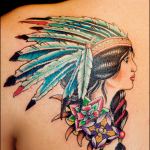 Native American 6 150x150 - 100's of Native American Tattoo Design Ideas Pictures Gallery