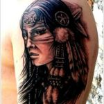 Native American 8 150x150 - 100's of Native American Tattoo Design Ideas Pictures Gallery