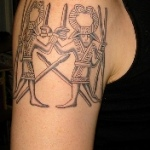 Norse 3 150x150 - 100's of Norse Tattoo Design Ideas Pictures Gallery