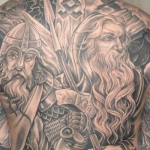 Norse 5 150x150 - 100's of Norse Tattoo Design Ideas Pictures Gallery