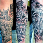 Norse 8 150x150 - 100's of Norse Tattoo Design Ideas Pictures Gallery