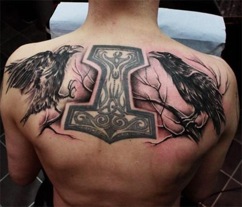100's of Norse Tattoo Design Ideas Pictures Gallery