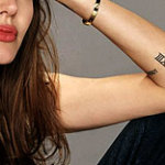 Number Tattoo10 150x150 - 100's of Number Tattoo Design Ideas Pictures Gallery