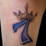 Number Tattoo2 150x150 - 100's of Number Tattoo Design Ideas Pictures Gallery