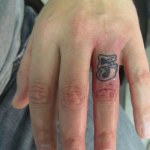 Number Tattoo6 150x150 - 100's of Number Tattoo Design Ideas Pictures Gallery
